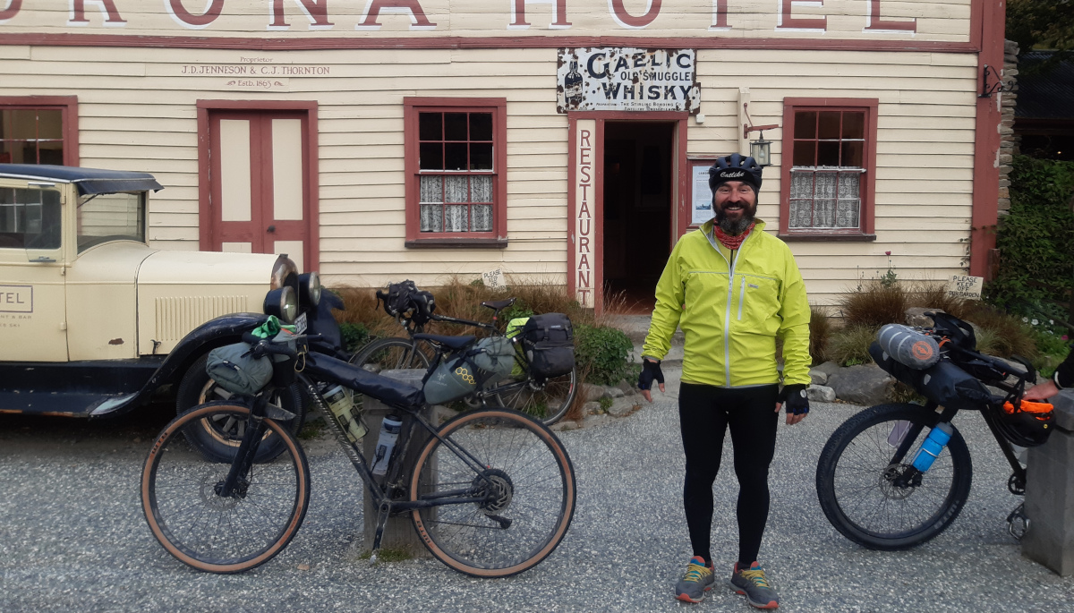 Tour Aotearoa 2020 - Marek Kuziel - Scruffy and happy!